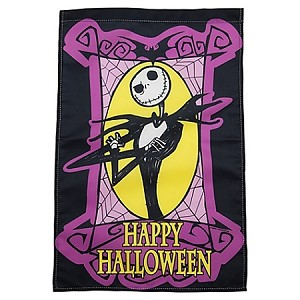 Disney Halloween Banner Yard Flag - Happy Halloween - Jack Skellington