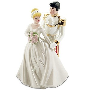 Disney Cake Topper - Prince Charming and Cinderella Figurine