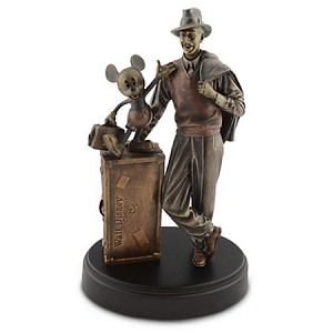 Disney Bronze Replica Statue - Walt and Mickey Mouse Storytellers