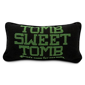 Disney Throw Pillow Cushion - Haunted Mansion - Tomb Sweet Tomb