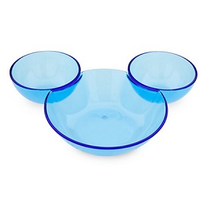 Disney Serving Bowl - Mickey Mouse Chip and Dip Bowl - Summer Fun