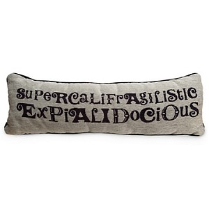Disney Throw Pillow Cushion - Supercalifragilisticexpialidocious