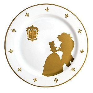 Disney Dinner Plate - Beauty and the Beast - Be Our Guest