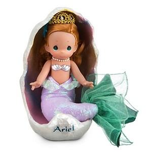 Disney Precious Moments Doll - Ariel - The Little Mermaid