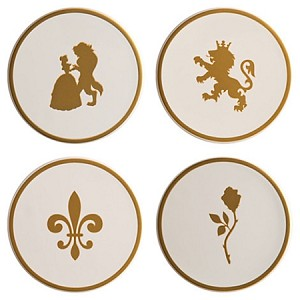 Disney Coaster Set - Beauty and the Beast - Be Our Guest