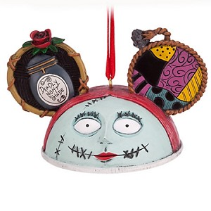 Disney Ear Hat Ornament - Nightmare Before Christmas - Sally
