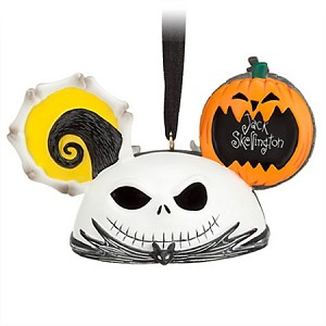 Disney Ear Hat Ornament - Jack Skellington and Zero