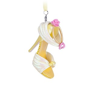 Disney Shoe Ornament - Princess Belle