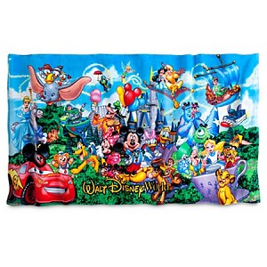 Disney Beach Towel - Mickey Mouse and Friends - Storybook
