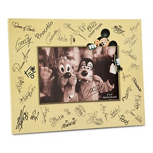 Disney Photo Frame - Characters Signature - 4
