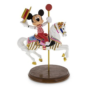 Disney Medium Figure - Jingles and Mickey Mouse Carousel Horse