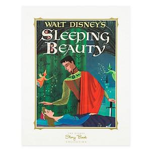 Disney Story Book Deluxe Art Print - Sleeping Beauty