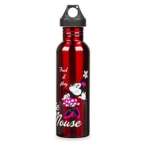 Disney Water Bottle - Stainless Steel Sports Bottle - Minnie Mouse