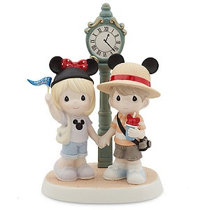 Disney Precious Moments Figure - Main St. U.S.A. - My Main Attraction