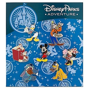 Disney Parks Pin Set - Adventure Mickey Mouse