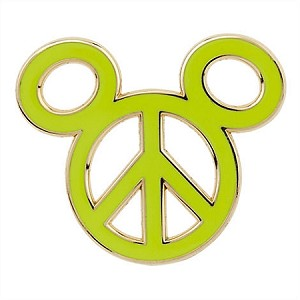 Disney Mickey Icon Pin - Peace