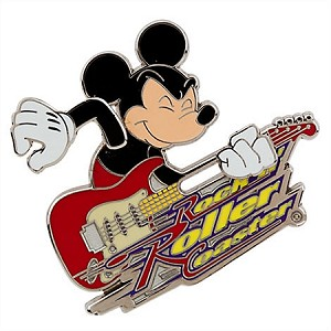 Disney Hollywood Studios Pin - Rock N' Rollercoaster - Mickey Mouse