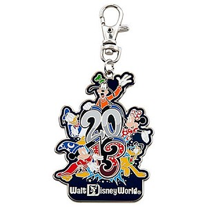 Disney Lanyard Medal - 2013 Sorcerer Mickey Mouse