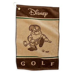 Disney Golf Towel - Grumpy - Disney Golf