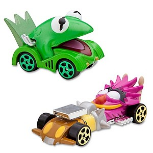 Disney Racers Set - The Muppets Kermit and Animal