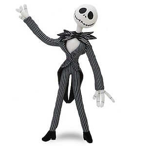 Disney Plush - Jack Skellington Plush Toy -- 9''