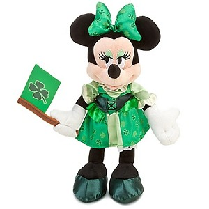Disney Plush - Ireland World Showcase - Minnie Mouse Plush Toy -- 10''