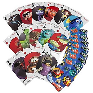 Disney Playing Cards - Jumbo Disney Pixar