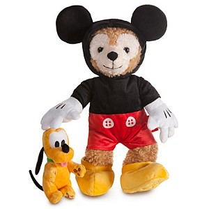 Disney Duffy The Bear Outfit - Mickey Mouse Costume - 5 Pc.