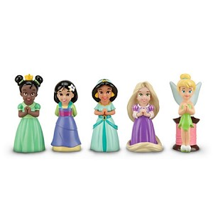 Disney Play Set - Princess and Fairies Squeeze Toy Set