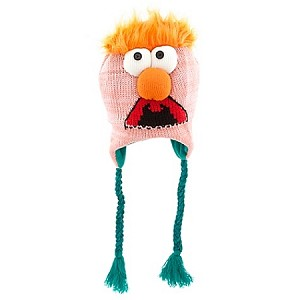 Disney Hat - Knit Hat - The Muppets Beaker