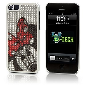 Disney Iphone 5 Case - Minnie Mouse Peek a Boo Bling Dotty