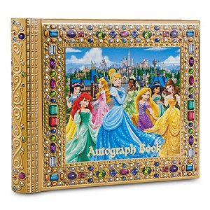 Disney Autograph Photo Album Book - Princess Deluxe
