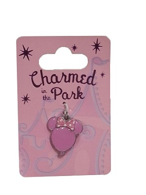 Disney Dangle Charm - Charmed in the Park - Minnie Balloon