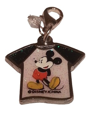 Disney Dangle Charm - Charmed in the Park - Mickey Mouse Shirt
