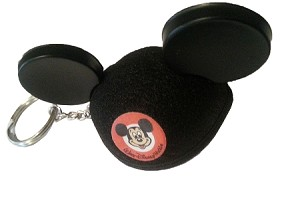Disney Keychain - Mickey Mouse Mouseketeer Ear Hat