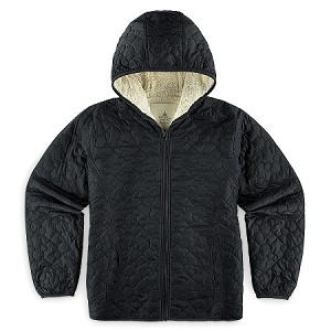 Disney Hooded Jacket for Women - Mickey Mouse Quilted