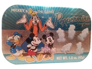 Disney Goofy's Candy Co - Peppermint Mints - Mickey & Gang