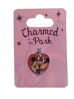 Disney Dangle Charm - Charmed in the Park - Minnie & Mickey Heart