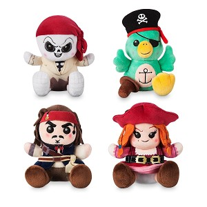Disney Wishables Plush - Pirates of the Caribbean Dog with Keys