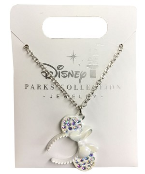 Disney Necklace - Minnie Mouse Ear Headband - Magic Mirror Metallic
