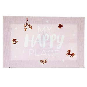 Disney Magnet - My Happy Place - Canvas