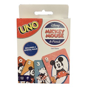 Disney Theme Park Game - Uno - Mickey Mouse and Friends