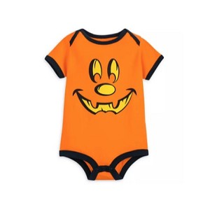 Disney Infant Bodysuit - Mickey Mouse Halloween Pumpkin