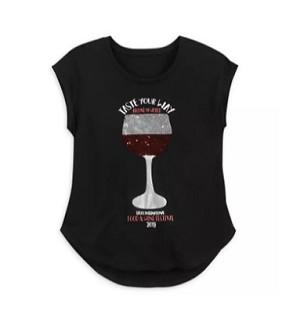 Disney Tank Top for Women - 2019 Food & Wine - Reversible Sequin