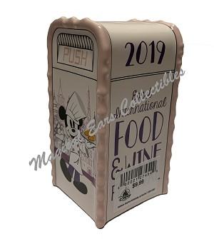 Disney Salt or Pepper Shaker - 2019 Food and Wine - Mickey Trash Can
