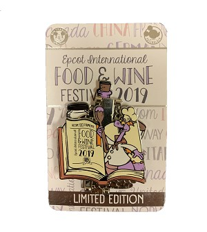 Disney Food & Wine Festival Pin - 2019 Chef Figment - Limited Edition