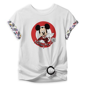 Disney Shirt for Women - The Mickey Mouse Club With Shirt Clip