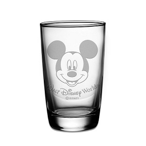 Disney Arribas Juice Glass - Mickey Mouse - Personalizable