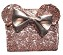 Disney Loungefly Wallet - Minnie Mouse Rose Gold - Sequined