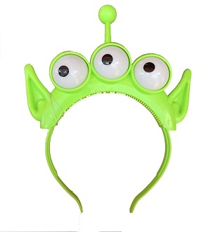 Disney Ears Headband Hat - Toy Story Land - Alien - Light Up